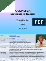 Sarv Ene-Silvia. Koolikliima - kutsekool  2013