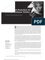 Employment Protection for Domestic Violence Victims