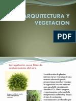 Arquitectura y Vegetacion