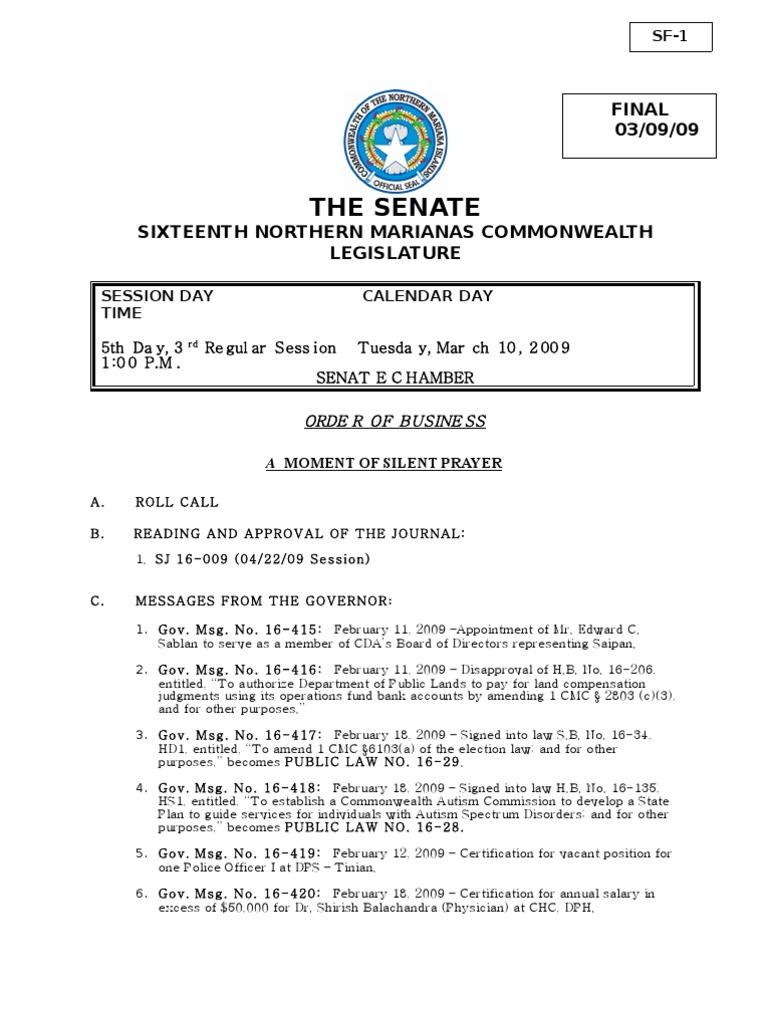 Senate bill 16 49 cnmi politics government xflitez Image collections