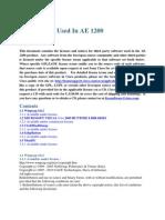 AE1200 License Notices