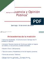 Delincuencia y opinión pública