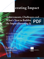 Accelerating Impact Book - Rockefeller Foundation.