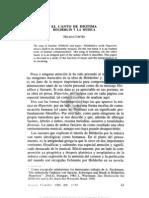 Cortés, Helena - 2 EL CANTO DE DIOTIMA HÓLDERLIN Y LA MÚSICA