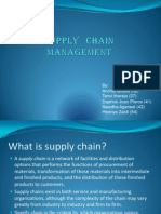 Ppt - Supply Chain Management