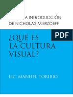 Que Es La Cultura Visual