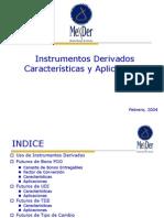 Instrumentos Derivados Caracteristicas y Aplicaciones