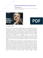 George Soros y La Crisis Del Euro