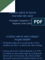 Garegnani - Debate sobre la teoría marxista del valor.pptx