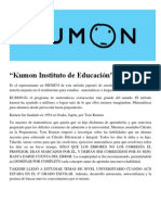 Kumon Instituto de Educación
