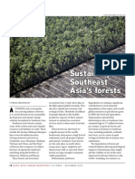 Sustaining Southeast Asia's forest