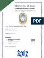 Tratado de Libre Comercio Del Peru