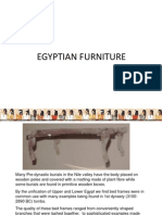 Egyptian Furniture