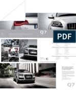 Audi Q7 Catalog (Germany, 2013)
