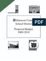 2009-10 Budget