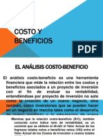 Costo y Beneficios