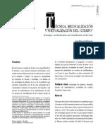 Medicalizacion y Biopoder