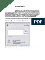 Cara Setting Page Setup Acad