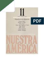 DUSSEL,ROIG,MONTIEL,etc_Filosofía de la liberación (rev.Nuestra América 11,UNAM,1984)