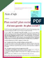 EPA Note d'info 9/04/2009