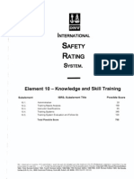Element 10 Knowledge and Skill Training - Questions Marked