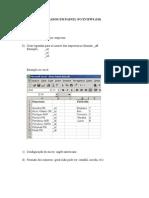 Roteiro Básico para Dados em Painel no Eviews