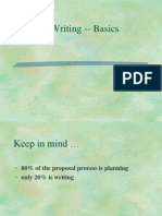 Proposal Writing A