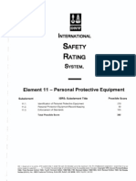 Element 11 Personal Protective Equipment - Questions Marked