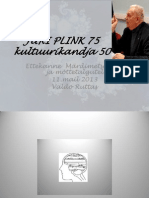 JÜRI PLINK 75