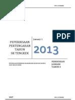 Soalan PJ THN 4 Tgh Tahun 2013