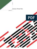 Printer File AS400