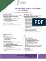 FMEA 4th Edition & Control Plan