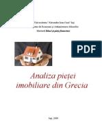 Analiza Pietei Imobiliare Din Grecia