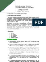 04-13-09 Council Agenda Session