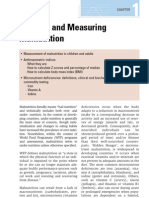 3) Chapter 1 - Defining & Measuring Malnutr (Pgs 15-32)