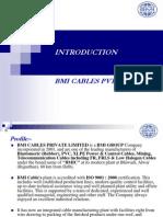BMI Cables Presentation
