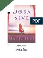 Manil Suri - Doba Sive