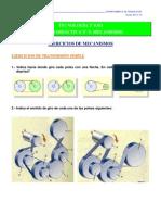 Ejercicios Mecanismos 2 Eso 2012-13