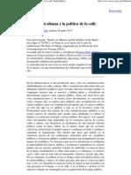 Butler, Judith - Cuerpos en alianza y la política de la calle
