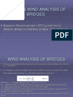 Seismic & Wind Analysis of Bridges