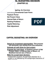Capital-Budgeting in Finance