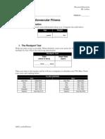 LAB 03 - Cardiovascular Fitness