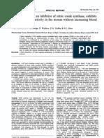 nitro idazole an inhibitor of nitric oxide