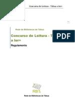 Concurso_Tábua a ler + REGULAMENTO  12-13