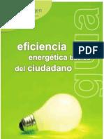 Eficiencia energética doméstica. Ahorro en el hogar.
