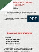 Arte Moderna - Brasil - 3º ano