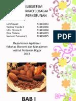agribisnis kakao