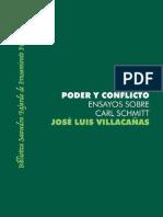 Jose Luis Villacanas Poder y Conflicto Estudios Sobre Carl Schmitt 2008