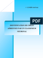 Identification Des Cibles Aeriennes Par Un Classifieur Neuronal