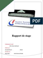 Rapport Steg Moncef Chouaibi